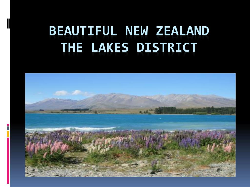 beautiful new zealand the lakes district l.