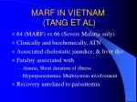 marf in vietnam tang et al