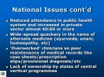 national issues cont d