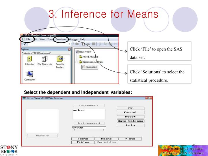 3. Inference for Means