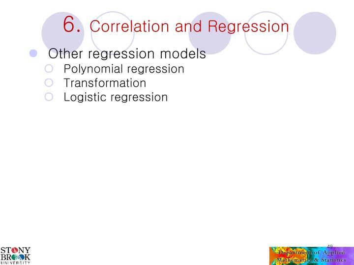 Other regression models