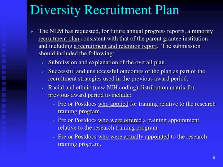 Diversity Recruitment Plan