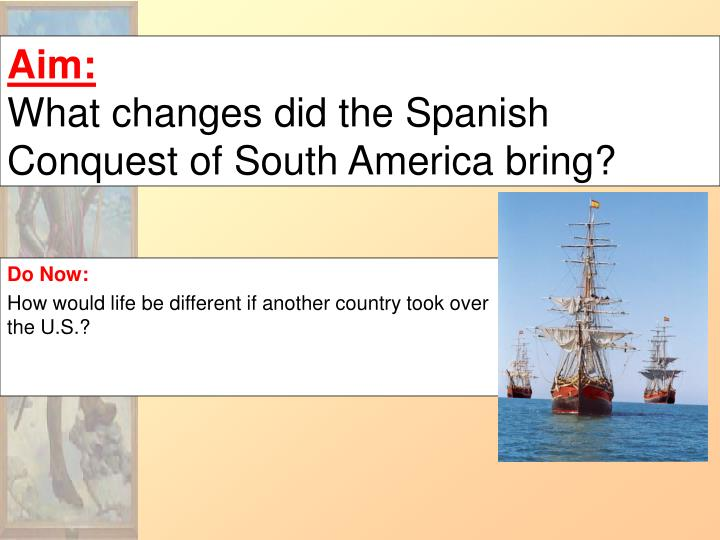 colonial influences of the spaniards in Countries of latin-america share after years of being submissive to european influence, today latin america is a since the spaniards had bases that.