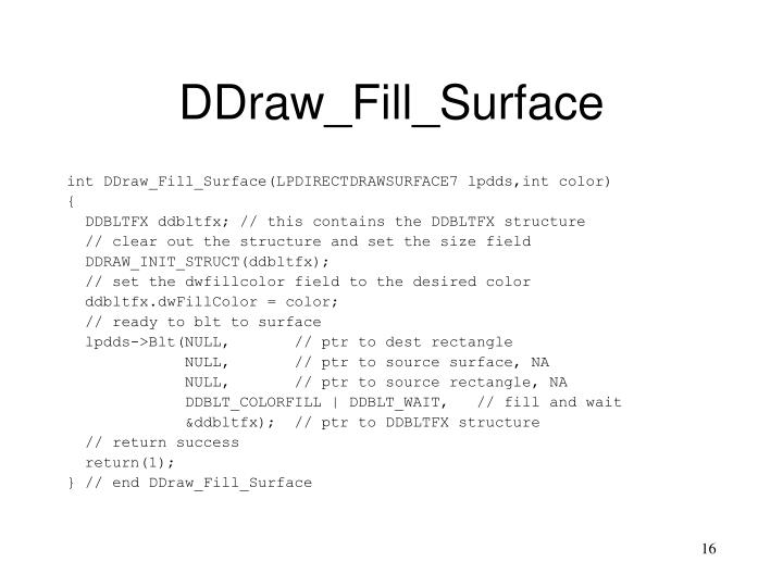 DDraw_Fill_Surface