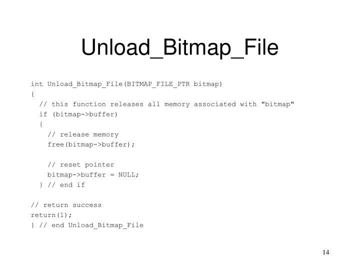Unload_Bitmap_File