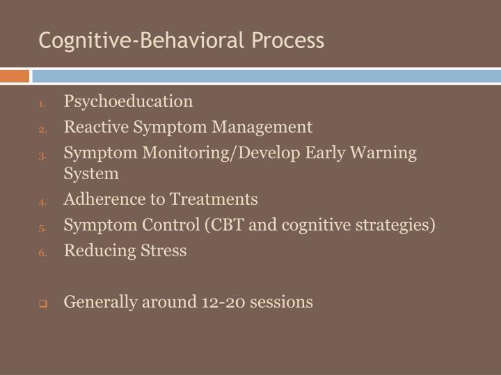 Cognitive-Behavioral Process