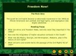 freedom now