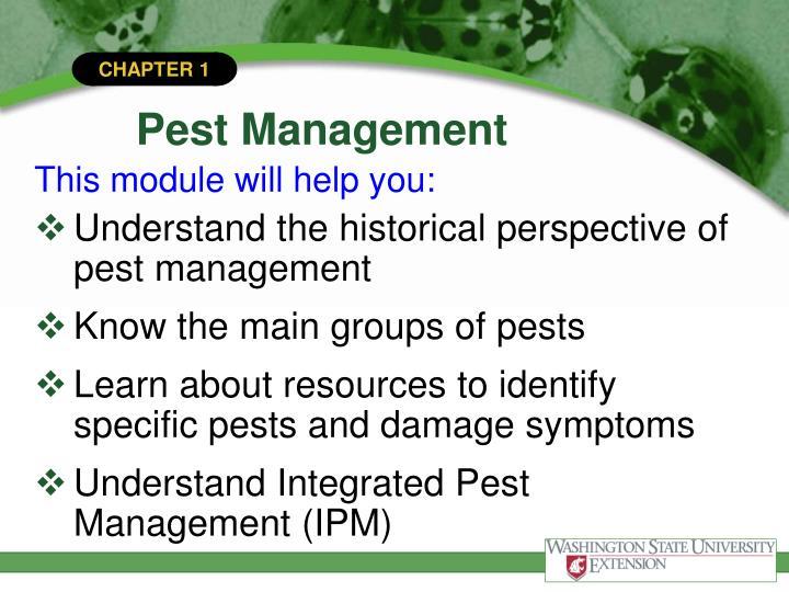Pest management1