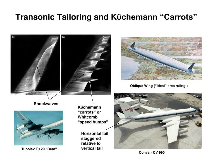 Transonic Tailoring and K