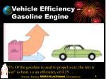 vehicle efficiency gasoline engine