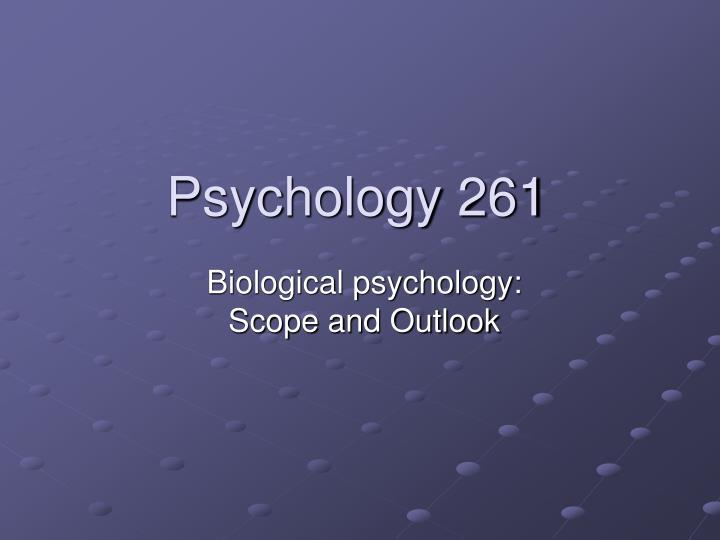 Psychology 261