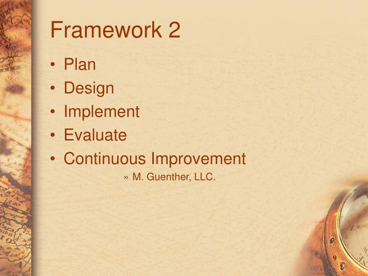 Framework 2