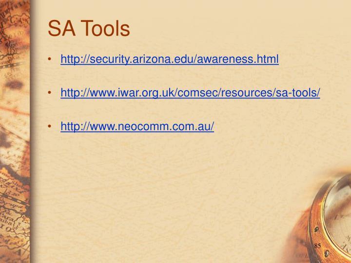 SA Tools