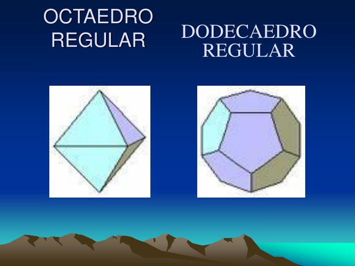 OCTAEDRO REGULAR