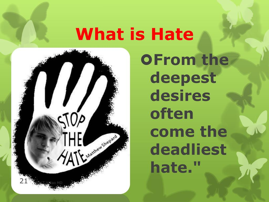 What is Hate