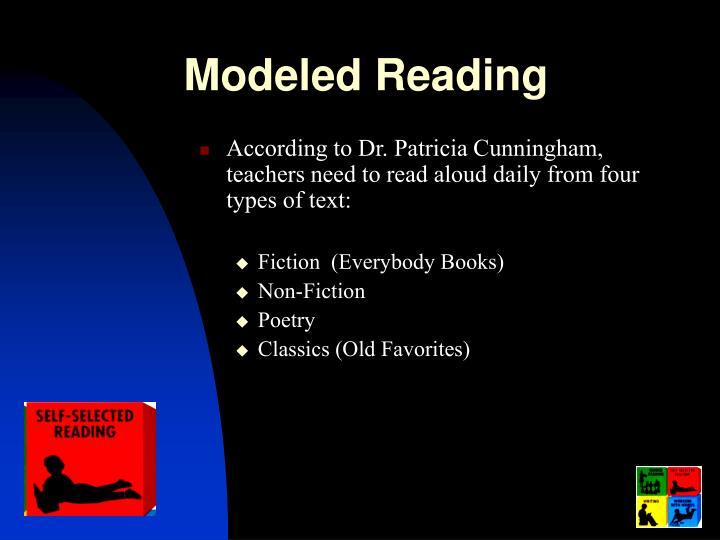 Modeled Reading
