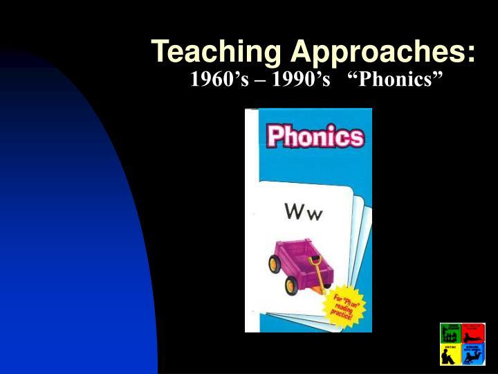 Teaching Approaches: