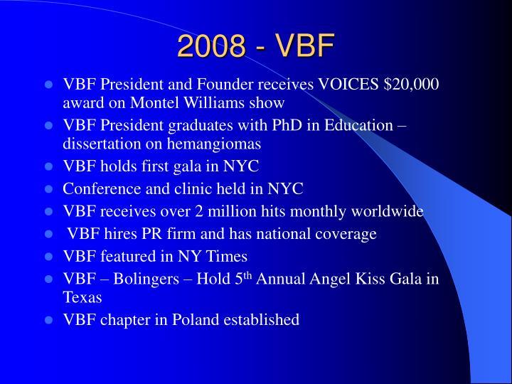 2008 - VBF