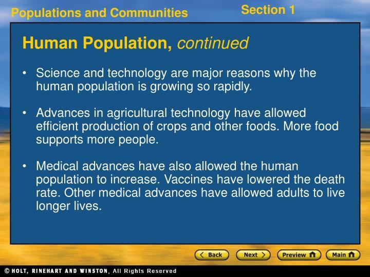 Human Population,