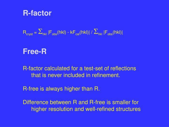 R-factor