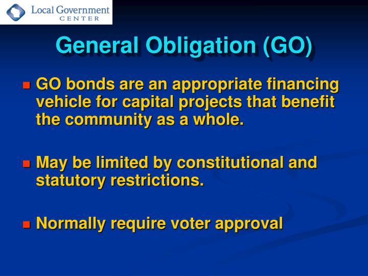 General Obligation (GO)