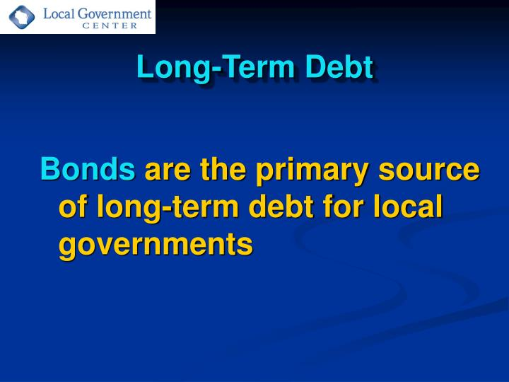 Long term debt