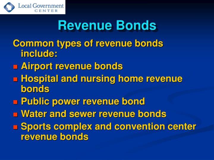 Revenue Bonds