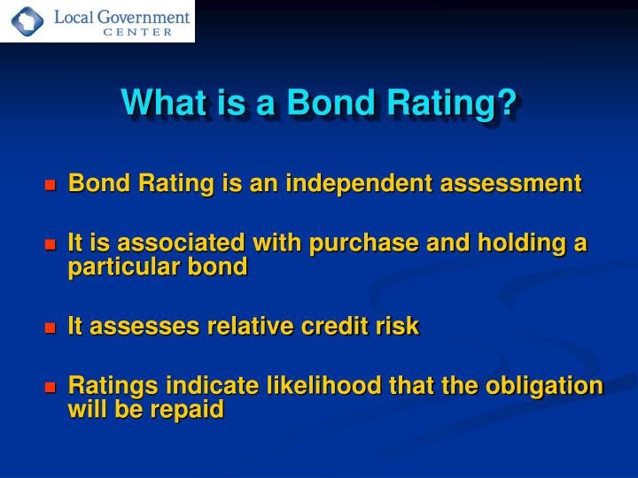 What is a Bond Rating?