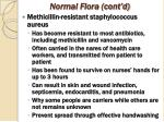 normal flora cont d4