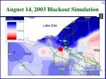 august 14 2003 blackout simulation