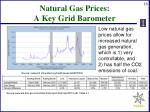 natural gas prices a key grid barometer
