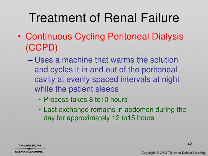 Treatment of Renal Failure