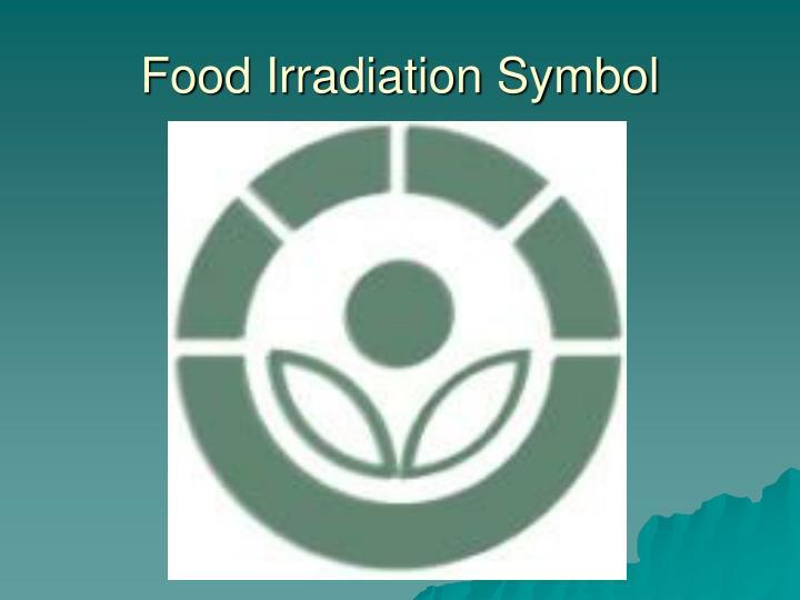 Food Irradiation Symbol
