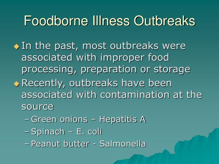 Foodborne Illness Outbreaks