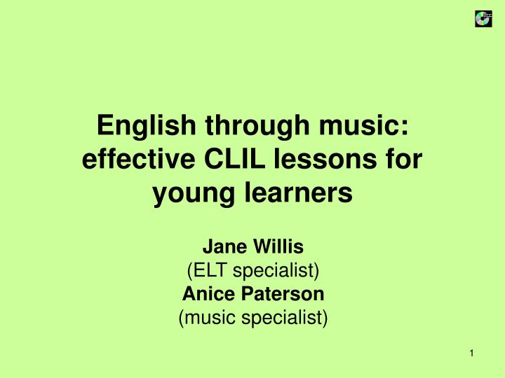 english through music effective clil lessons for young learners n.