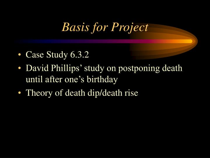 Basis for project