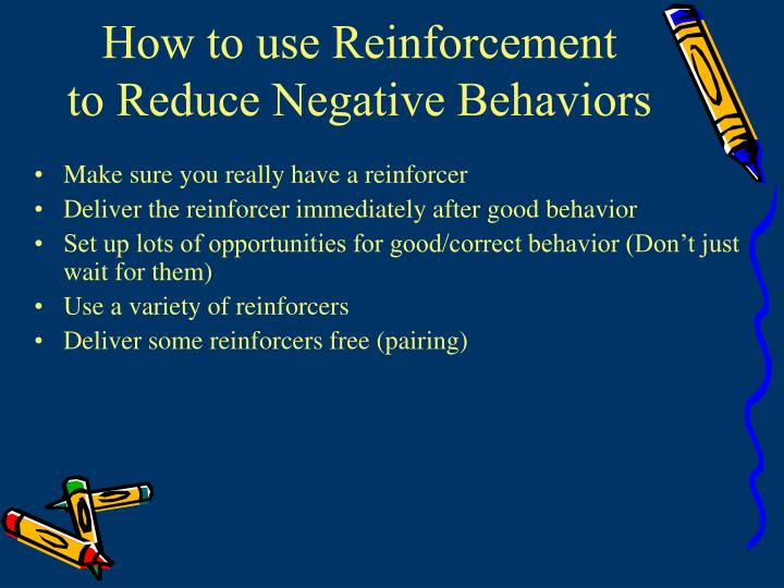 How to use Reinforcement