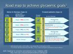 road map to achieve glycaemic goals 1