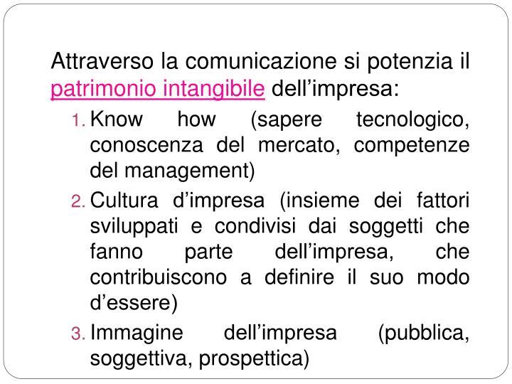 Attraverso la comunicazione si potenzia il