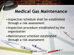medical gas maintenance1