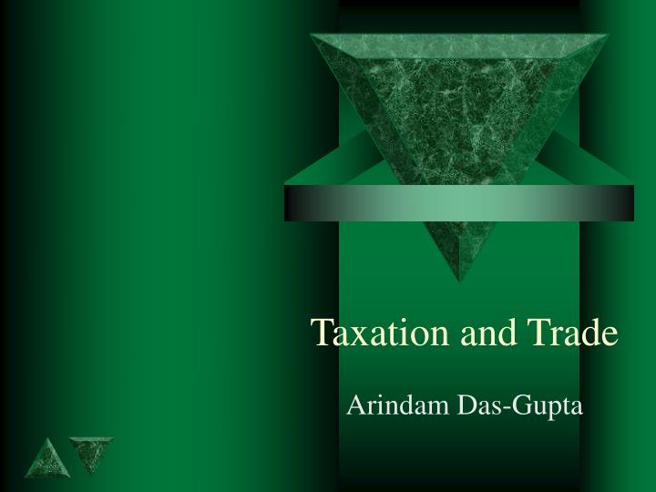 taxation and trade
