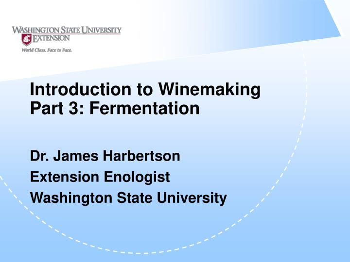 Introduction to winemaking part 3 fermentation