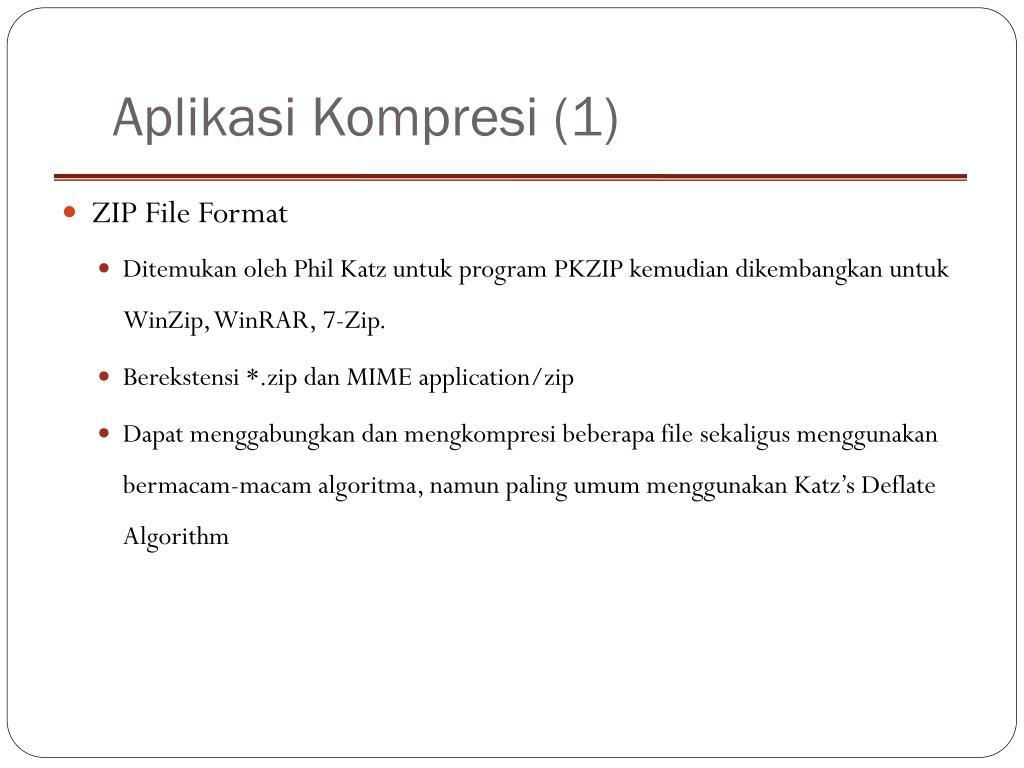 Aplikasi Kompresi (1)
