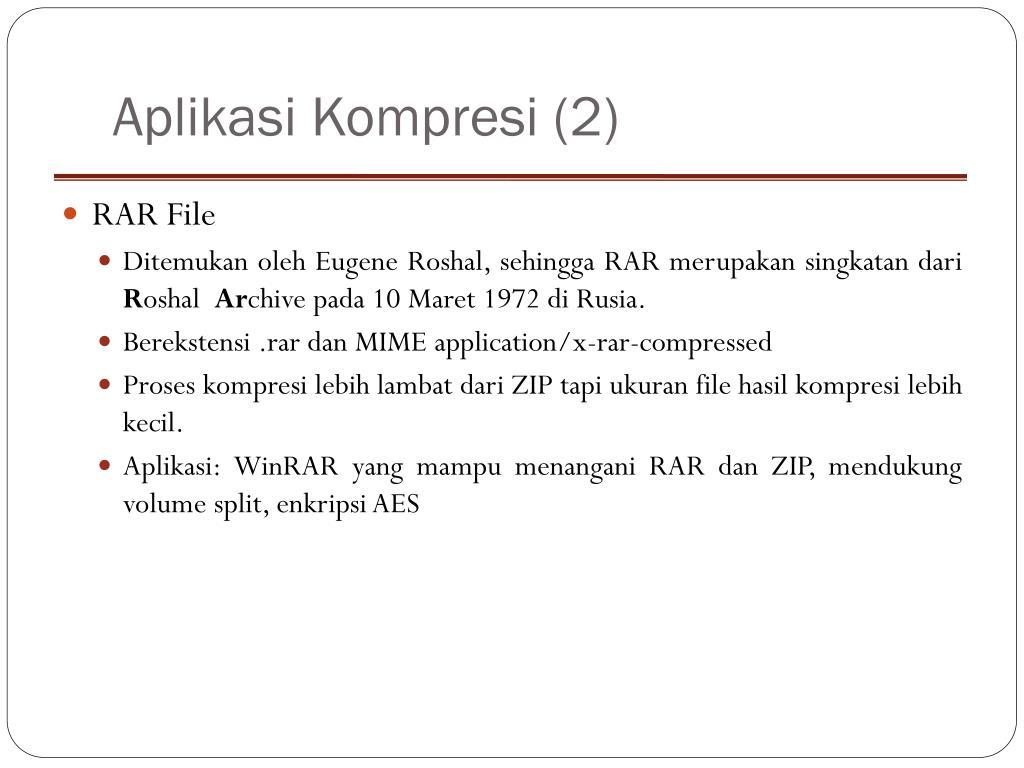 Aplikasi Kompresi (2)