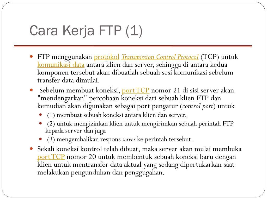 Cara Kerja FTP (1)