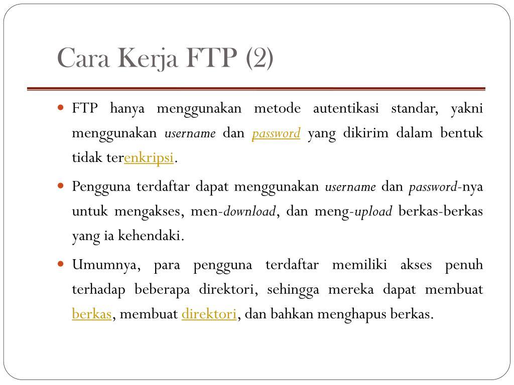 Cara Kerja FTP (2)