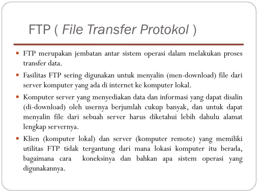 FTP (