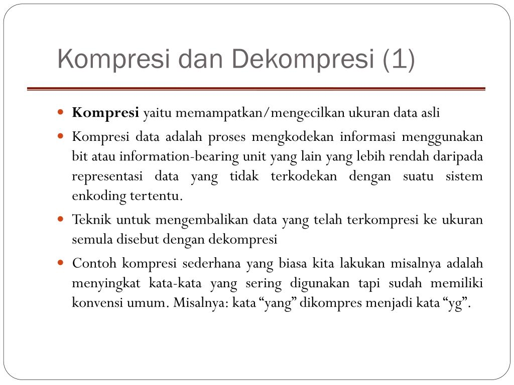 Kompresi
