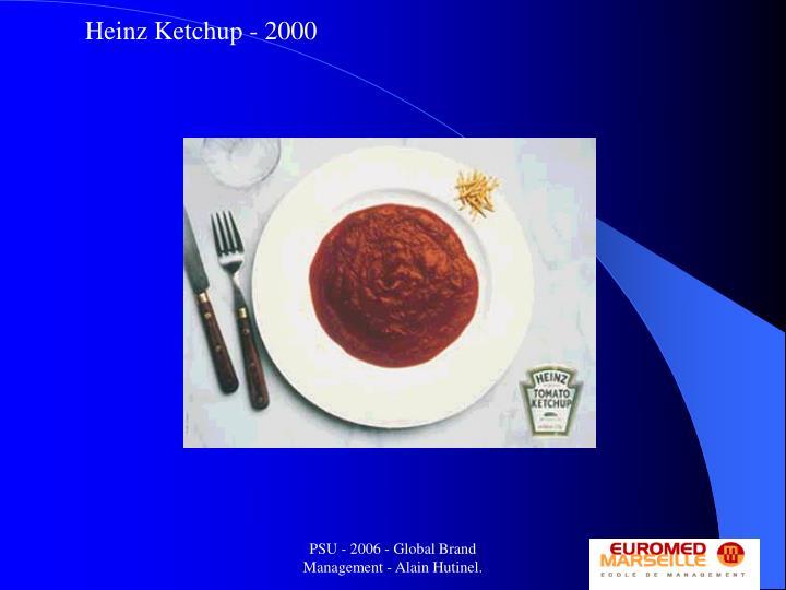 Heinz Ketchup - 2000
