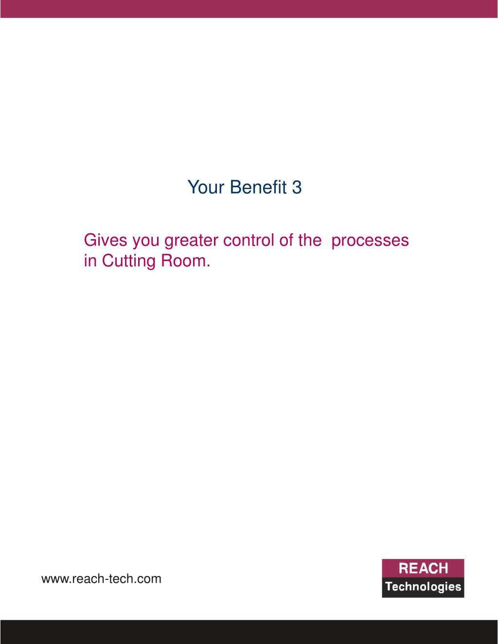 Your Benefit 3